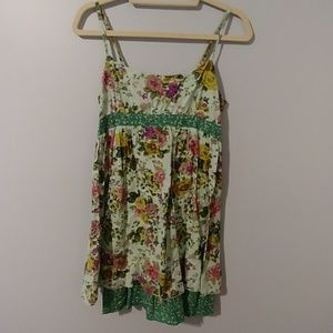 Fire Los Angeles Spaghetti Strap Sun Dress